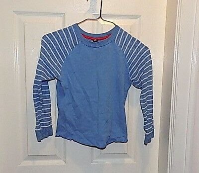 baby GAP Boys thermal long sleeve Top Size 5 years Toddler  blue white