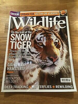 BBC Wildlife magazine, volume 31, number 8