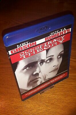 CONSPIRACY THEORY Blu-ray US import region a free abc (90's thriller,Mel Gibson)