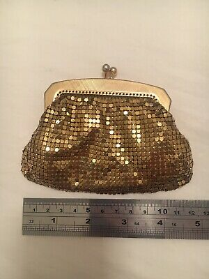 Vintage Oroton Glomesh Gold Coin Purse