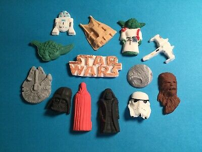24 X STAR WARS CHARACTERS EDIBLE CUPCAKE TOPPERS RICE PAPER CCDIA031