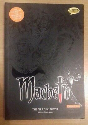 Macbeth - the Graphic Novel , William Shakespeare. 1st/First UK Edition
