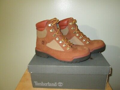 TB098519 Timberland 6 Inch Non-GTX Field Boot 100 % Waterproof   Brown Size 8 M