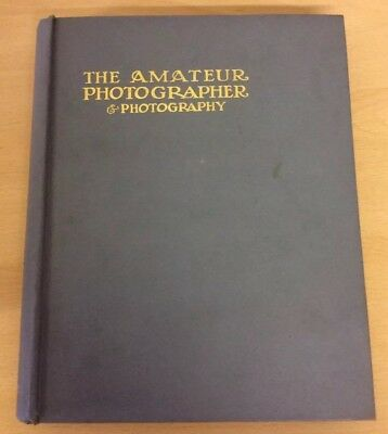 Amateur Photographer & Photography Vol LXII July- Dec 1926 Hard Back