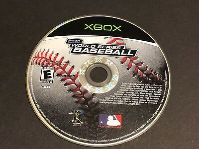 World Series Baseball (Microsoft Xbox, 2002)  ~Tested~ Very Good  Game Disc Only
