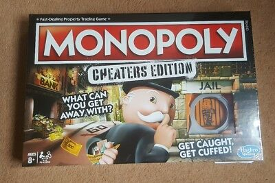 Monopoly Cheaters Edition NEW