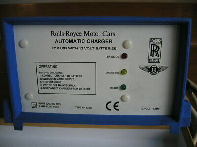 Rolls-Royce & Bentley Automatic Battery Charger / RH 13304