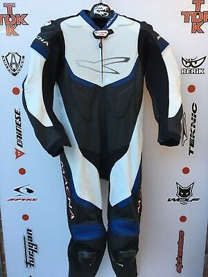 Macna One Piece Race suit with hump uk 40 euro 50 immaculate