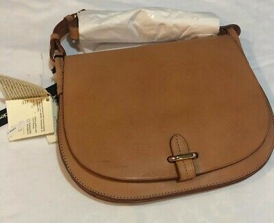 c3b15e1e6a7f CELINE LEFEBURE EMMA Leather Saddle Bag -  300.00