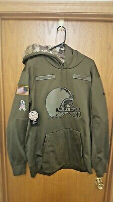 quality design 4ae36 b5dc6 CLEVELAND BROWNS NIKE NFL Salute to Service Sideline Therma ...