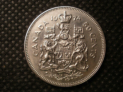 1998 Canadian Prooflike 50 Cent Fifty Cent $0.50