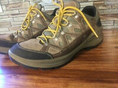 a56760baff2 LL BEAN MENS Hiking Shoes Boots Leather Gore-Tex Vibram Sole Brown US Size  12