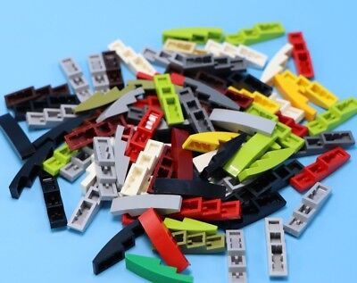 Parts /& Pieces 5 x Lego Black Brick with bow 1x4-6037746