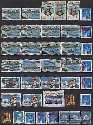 USA No.19 COLLECTION OF (39) STAMPS USED.