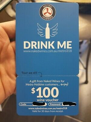 Gift card Naked Wines $100