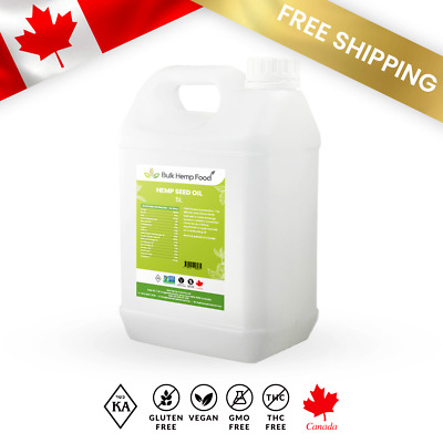 Canadian Organic Wholesale Hemp Seed Oil 15L Bulk Food Cafe Premium Litre