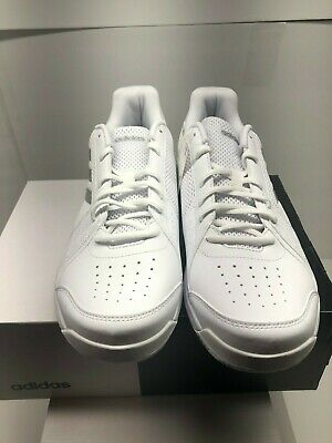 58aa05d6ba6 NEW ADIDAS MENS Approach B96525 White Tennis Shoes SNEAKERS Trainers ...
