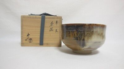 Tea Ceremony Chawan  Tea Bowl Takatori ware matcha by Rakuzan Kamei From Japan