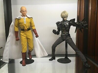 ThreeZero One-Punch Man Saitama Genos 1/6 Scale Figure with stand and battery