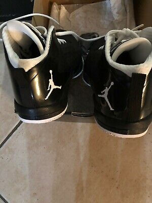 check out b93a7 9d71e Jordan Fly Wade 2 Size 12 Black And White Used Good Condition
