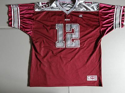 differently ad9f7 4e765 SEWN Maroon Colosseum Athletics Texas A M Aggies NCAA Football Jersey Adult  2XL