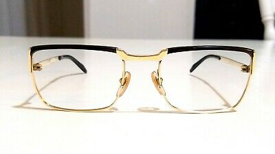 vintage eyeglasses ESSEL circa 1960 Frame France gold filled vintage glasses