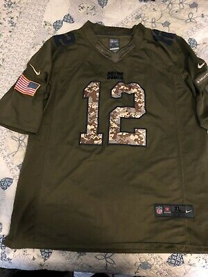 newest collection fa914 da360 MEN'S NIKE NFL Indianapolis Colts Andrew Luck Salute To Service Jersey XL  Camo