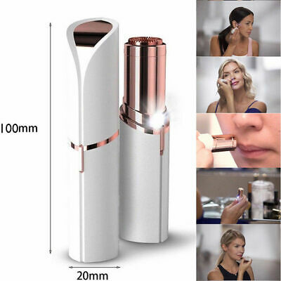 Women's Painless Facial Face Flawless Hair Removal Remover Lipstick Shaver