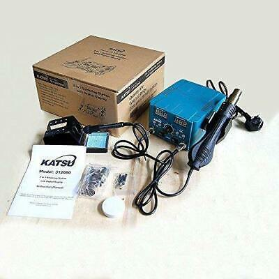 KATSU 852D 2 In 1 Hot Air Gun Soldering Heating Iron Digital Rework Station 70W