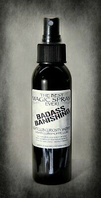 Wiccan Spell Spray: Badass Banishing - PROTECTION - AVOIDANCE - END DRAMA