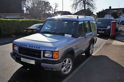 Landrover Discovery TD5 XS 02 plate.