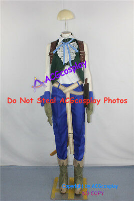 Final Fantasy Dissidia Zidane Tribal Cosplay Costume include boots covers