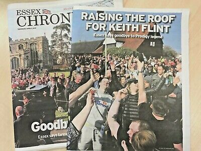 Keith Flint, The Prodigy - local newspaper commemorative supplement edition