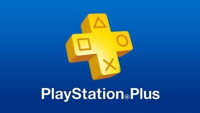 PSN 1 Month PlayStation PS Plus PS4-PS3 -Vita (NO CODE )