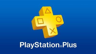 PSN 4 Weeks PlayStation PS Plus PS4-PS3 -Vita ( NO CODE )