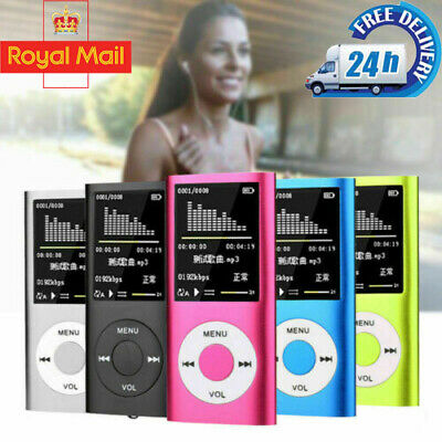 "IPod Style 32GB Portable 1.8"" LCD MP3 MP4 Music Video Media Player FM Radio BW1"