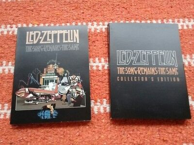 """LED ZEPPELIN """"The Song Remains The Same"""" Collector's Edition NEUF (vu 1 fois)"""