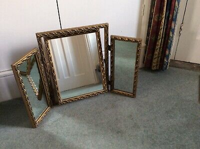 Vintage Triple Mirror for Dressing Table