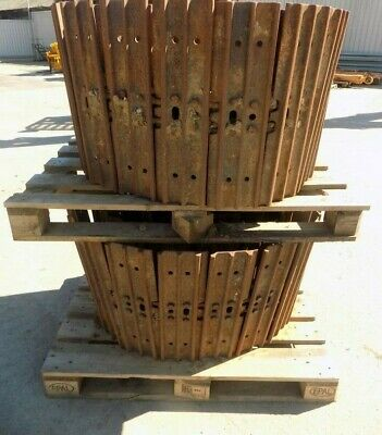 Set Of 600Mm Steel Tracks Taken Off A Case Cx75 Machine / Free Uk Delivery Inc