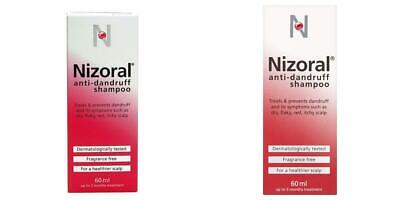 Nizoral Anti Dandruff Shampoo, 60 ml