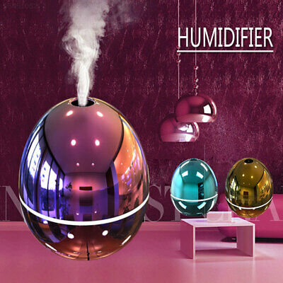 A427 Portable Car Aromatherapy Humidifier Atmosphere Rendering Egg Shape USB