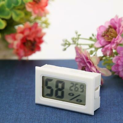 Mini Digital LCD Temperature Humidity Meter Thermometer Hygrometer (White) B4
