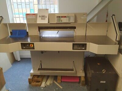 Guillotine - IDEAL 7228-06LT in excellent condition - price includes VAT