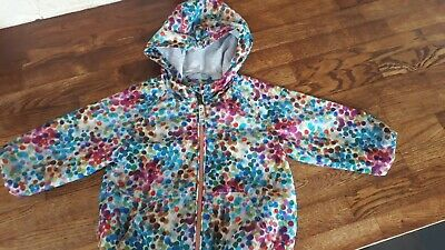 Next baby girl's Waterproof Jacket. 6-9 Months. Perfect Condition.