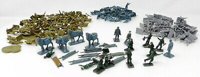 Vintage AIRFIX 1/72 FIGURES. WW2 German Mountain & Infantry, Allied Paratroopers