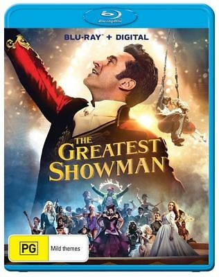 The Greatest Showman (Blu-ray, 2018) Brand New  & Sealed