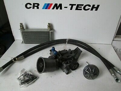 BMW E36 M3 3.0 3.2 S50B30 S50B32 oil filter housing, race oil cooler and hoses