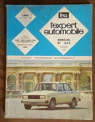 LADA 1200 - 1300 S - 1500 Novembre 1985 REVUE TECHNIQUE AUTOMOBILE l'ea