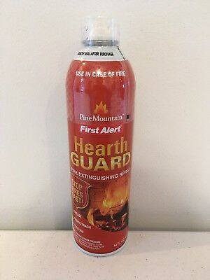 NEW First Alert AF400 Pine Mountain Hearth Guard Fire Extinguishing Spray 14 OZ
