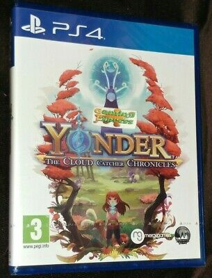 Yonder The Cloud Catcher Chronicles Playstation 4 PS4 NEW SEALED FREE UK p&p